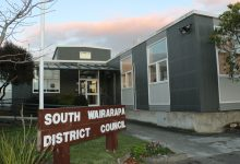 The South Wairarapa District Council, Martinborough. PHOTO/HAYLEY GASTMEIER