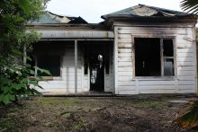 Neighbours unnerved after arson