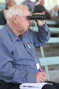 Ron Hughes was often seen in the members stand on Tauherenikau race days. PHOTO/FILE