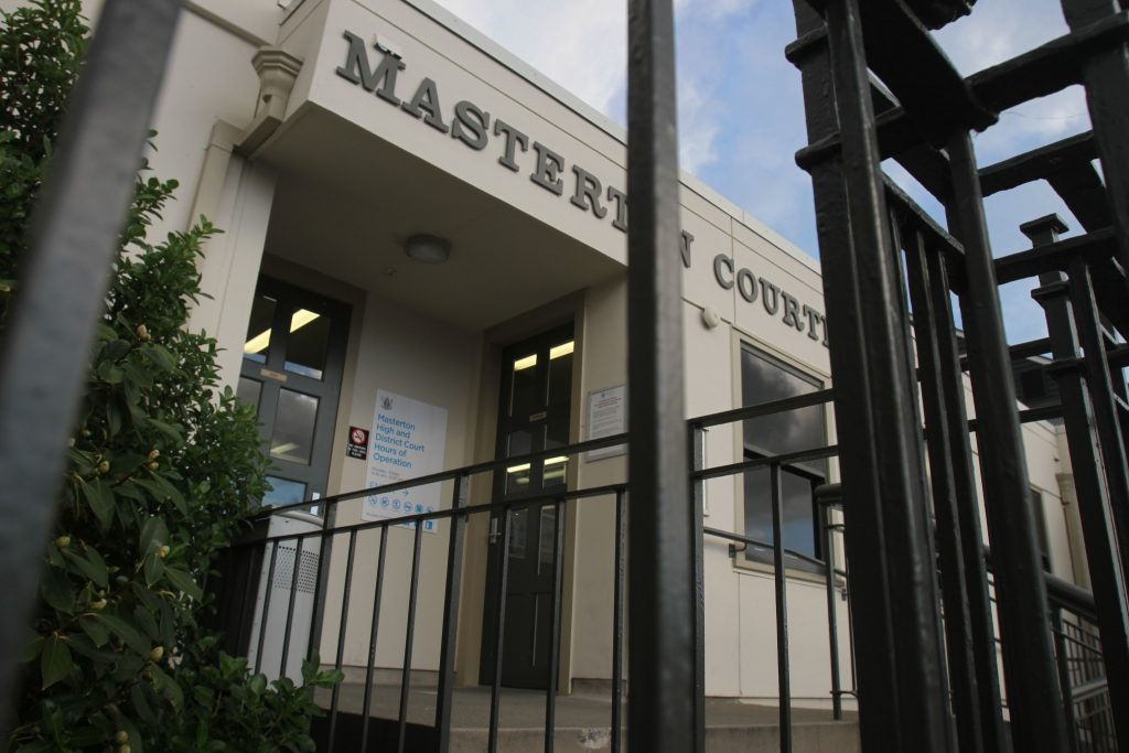 Masterton Court House. PHOTO/FILE