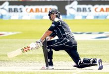 NELSON, NEW ZEALAND - DECEMBER 29: Neil Broom of New Zealand bats during the second One Day International match between New Zealand and New Zealand and Bangladesh at Saxton Field on December 29, 2016 in Nelson, New Zealand. (Photo by Martin Hunter/Getty Images)