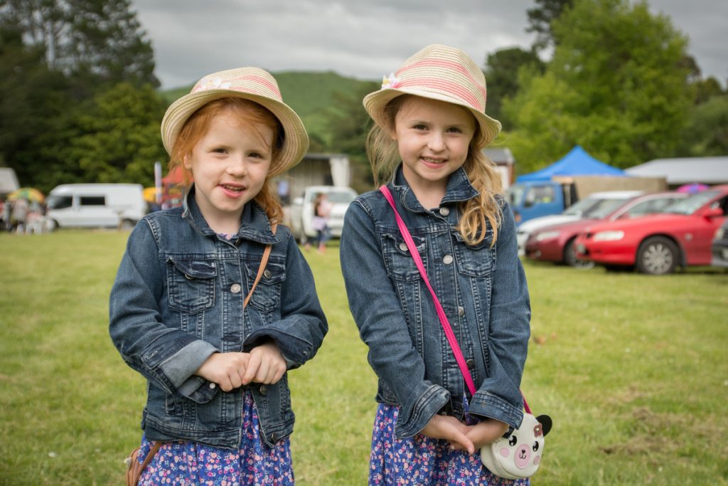 Oonagh and Aoife Turner enjoying the fair. PHOTO/JADE CVETKOV