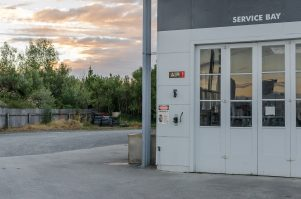 The Challenge service station in Greytown. PHOTO/PETER BLACK