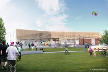 Mixed views on centre upgrade
