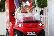 Electric carts for posties