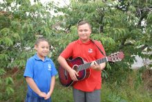 Music-loving kids set for Gizzy Day show