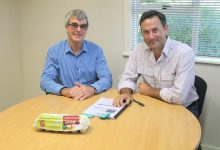 Henergy Cage-free founder Graeme Napier has welcomed Michael Jamieson to the CEO position. PHOTO/CHELSEA BOYLE