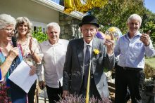 Old soldier turns 100