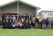 Last Tuesday members of the marae and community met to bless the land ahead of the construction PHOTO/SUPPLIED