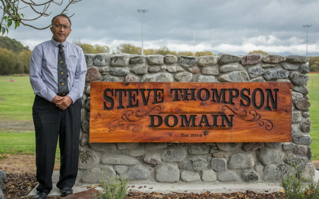 Thompson revels in his domain