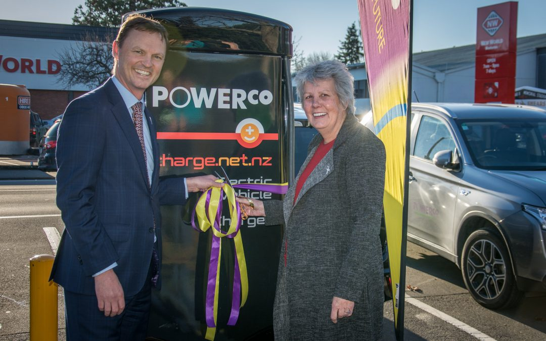 Masterton fast charger a boon for EV users