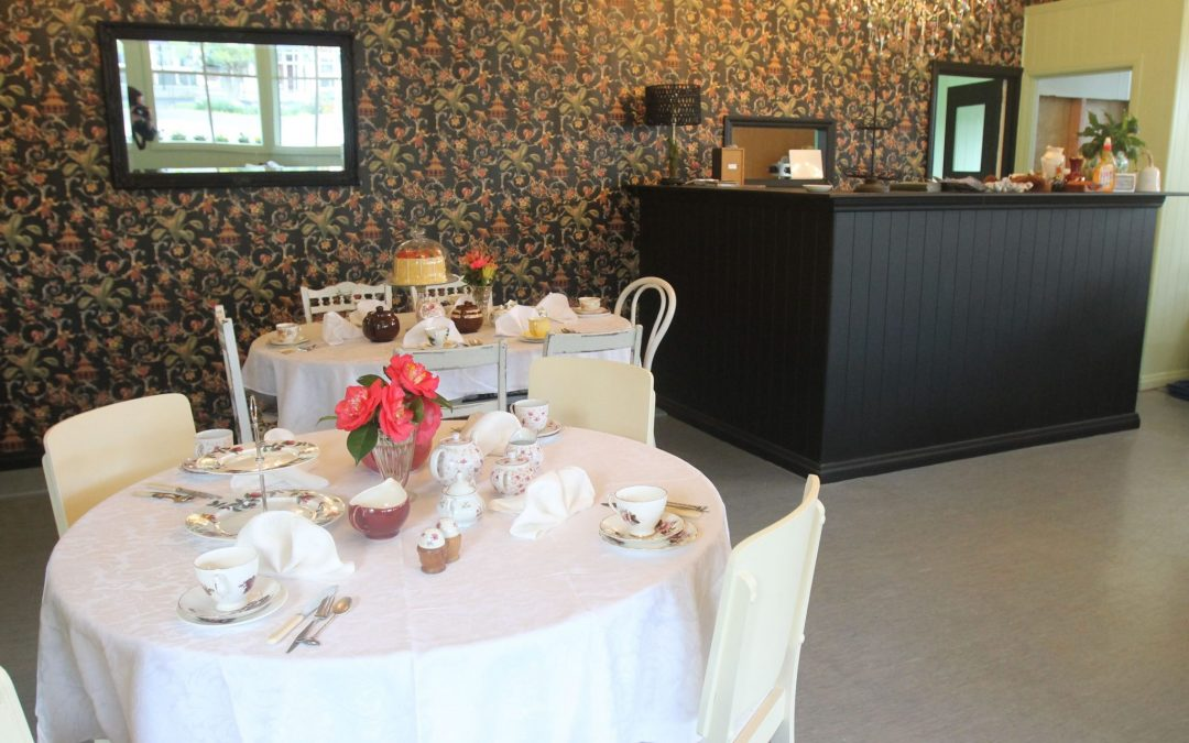 New tea rooms for Tinui