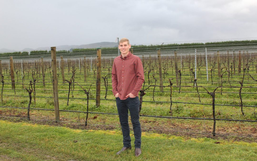 Hard work rewards young winemaker