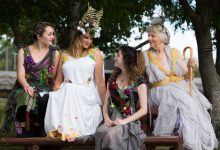 A rehearsal of Greytown Little Theatre's production of 'A Midsummer night's dream' earlier this year. PHOTO/MARK BEATTY