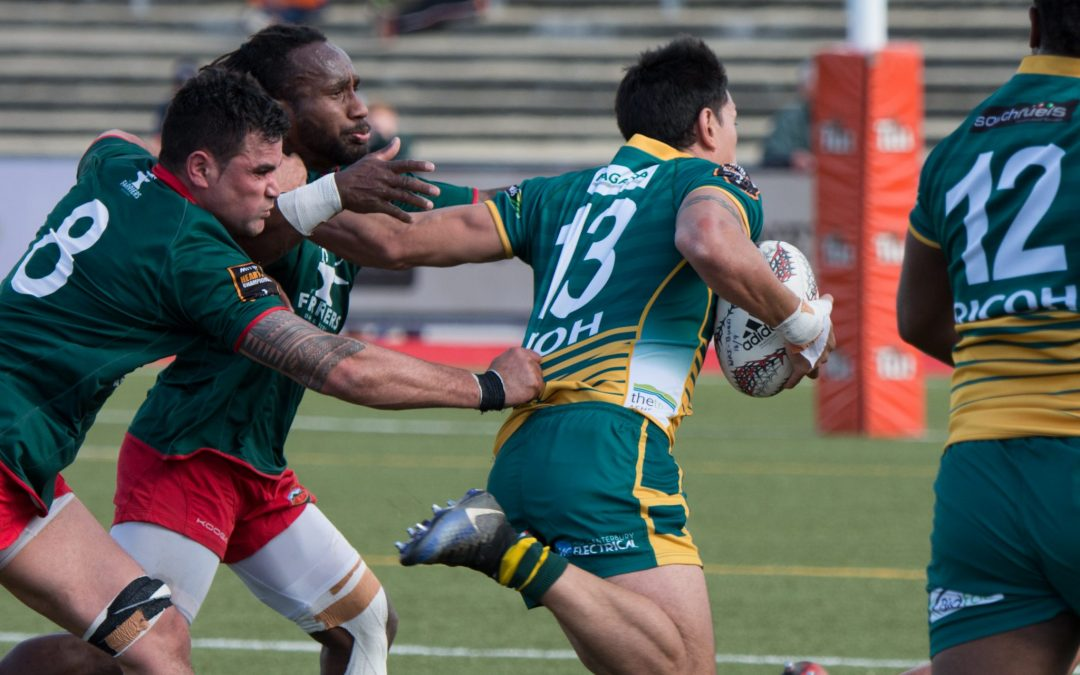 Nine-try thumping for Wai-Bush