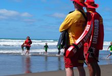Riversdale lifeguards on watch. PHOTO/SUPPLIED