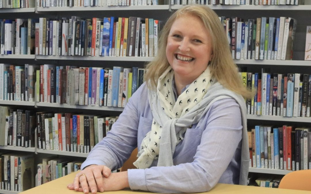 Booktown's new programme director