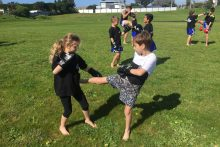 Muay Thai helping our youth