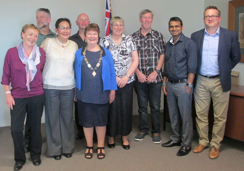 New Kiwi citizens, sworn in at the council chambers in Martinborough. PHOTO/SUPPLIED
