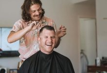 Sam Dowdall, the 'Barter Barber', will be guest of honour at this weekend's Green Dollars market. PHOTO/SUPPLIED