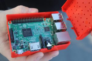 The Raspberry Pi is a low cost, credit-card sized computer. PHOTO/EMILY NORMAN