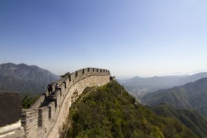 The Great Wall of China. PHOTO/DREW JOHNSTONE