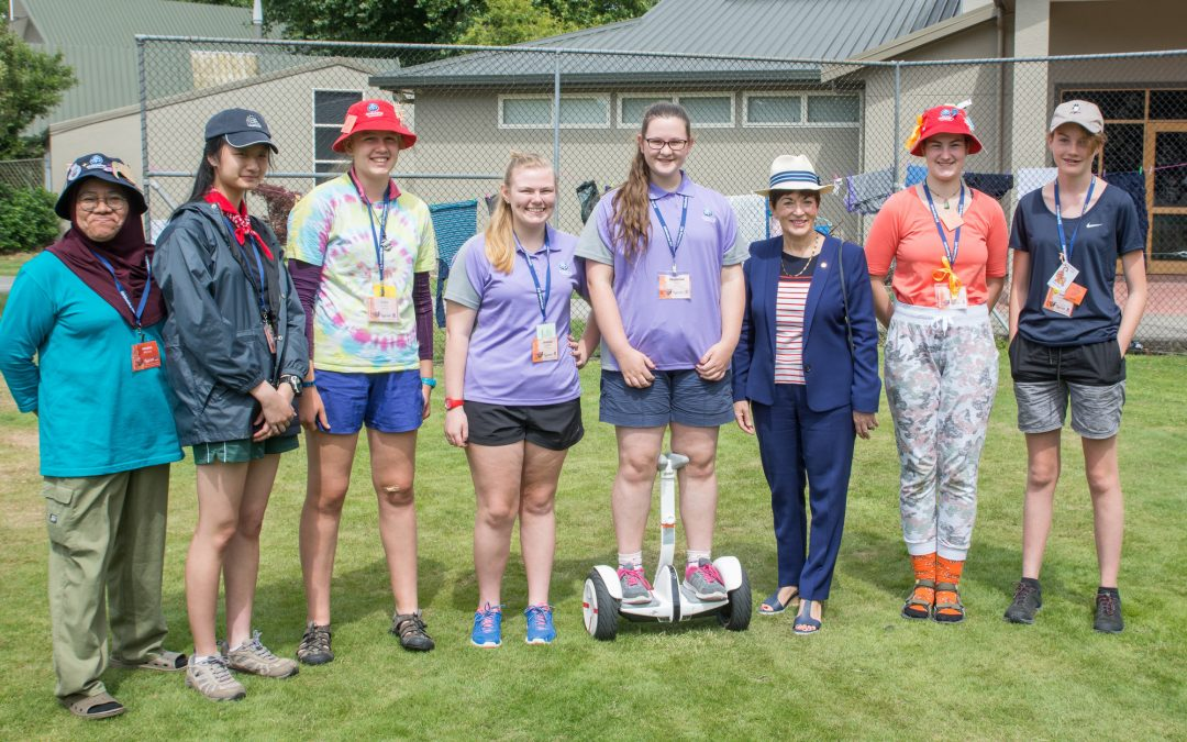 Girl guide rangers take on the great outdoors