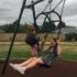 Parents' swing proves a hit