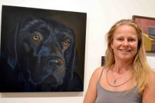 'No black' painting takes out award