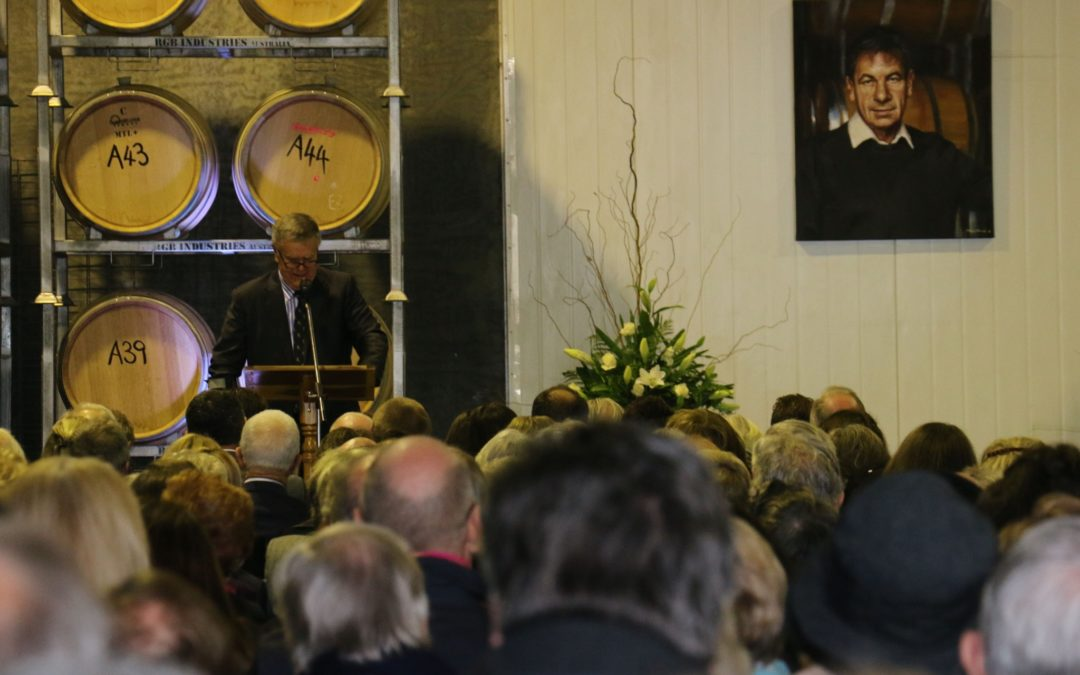 Hundreds farewell wine pioneer