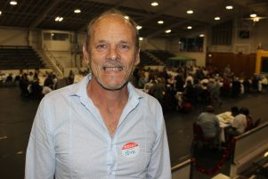 Masterton Community Church Pastor Pete Hampson. PHOTO/EMILY NORMAN