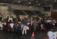 Masterton Community Church Christmas Lunch at the Masterton War Memorial Stadium. PHOTO/EMILY NORMAN