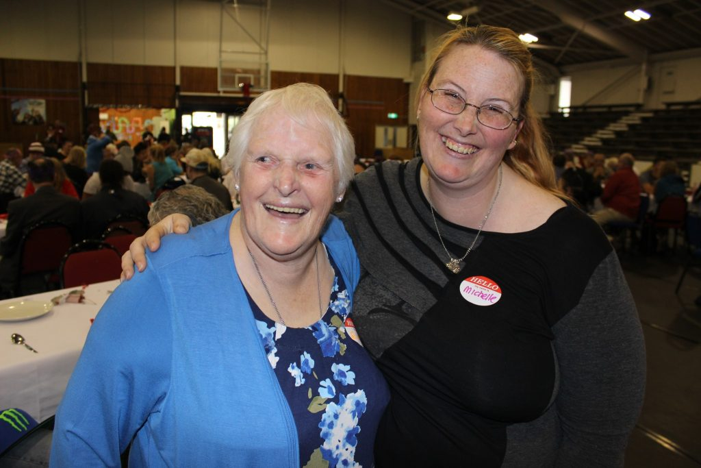 Elsie Murray and Michelle Norman. PHOTO/EMILY NORMAN