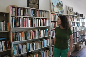 Loco owner Kate Mead is also the director of Booktown, to be held from May 12-14. PHOTO/HAYLEY GASTMEIER