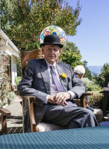Haddon Donald at his birthday celebration. PHOTO/TOM DONALD