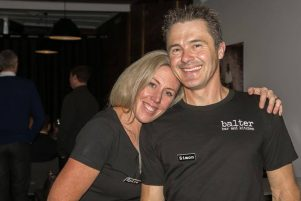 Kylie Mole and her husband Simon are the entrepreneurs behind Balter Bar & Kitchen. PHOTO/SUPPLIED