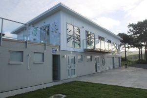 Riversdale's new Surf Lifesaving Clubrooms. PHOTO/CHELSEA BOYLE