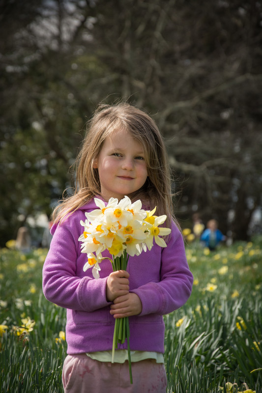 Sophie Sherley, 5, from Newlands. PHOTO/JADE CVETKOV