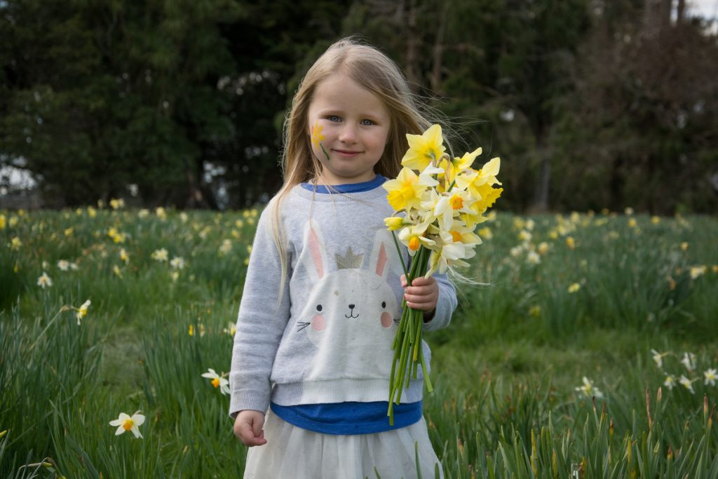Poppy Wilkinson, 4, from Lower Hutt. PHOTO/JADE CVETKOV