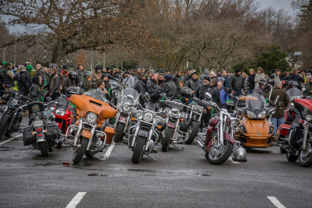 Too Many Wairarapa suicide awareness event with RATS riders from around New Zealand. PHOTO/JADE CVETKOV