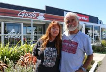 Joanna and Mike Howard are opening the Dragon Inn, a Welsh tapas bar, in Featherston. PHOTO/HAYLEY GASTMEIER