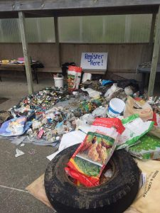150kg of rubbish was picked up at last year's event. PHOTO/SUPPLIED