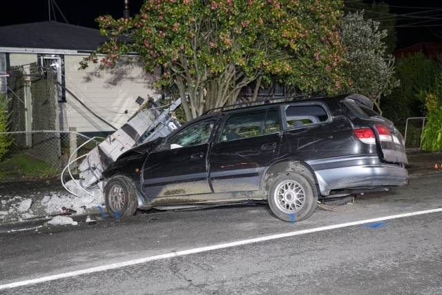 Drunk driver says 'Sorry'