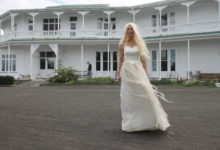 Justine Kingdon, the White Queen of Narnia at Fareham House in Featherston. EMILY IRELAND