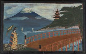 The war prisoners created many high-quality artworks, many featuring traditional Japanese themes. PHOTO/SUPPLIED