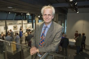 Japanese art historian, Associate Professor Richard Bullen of the University of Canterbury. PHOTO/SUPPLIED