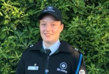 Kuranui College student Zoe Edwards was appointed District Cadet of the Year for St John. PHOTO/SUPPLIED