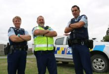 Meet the rural policing team - Constable Michele Clarke, Community Sergeant Ian Osland, and Senior Constable Yancy Hawkins. PHOTO/HAYLEY GASTMEIER
