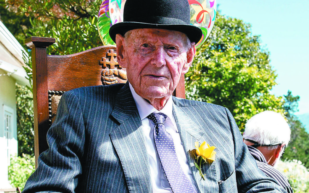 Old soldier bows out