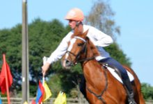 Area Representative Jeremy Thurston, will ride in the Mounted Games Championship next week and has been selected to represent New Zealand in Kentucky, USA in July. PHOTO/SUPPLIED